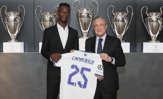 Real Madrid apresenta Eduardo Camavinga