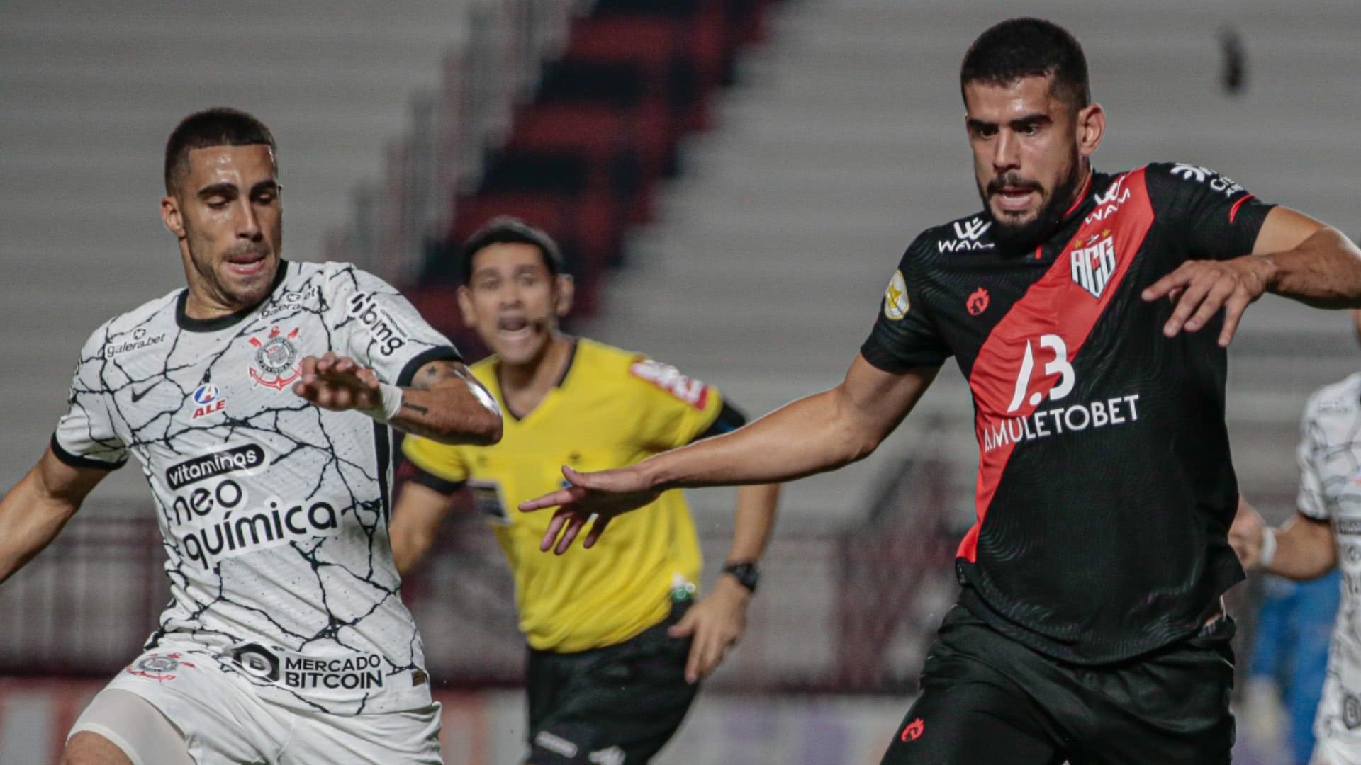 Atlético Goianiense e Corinthians